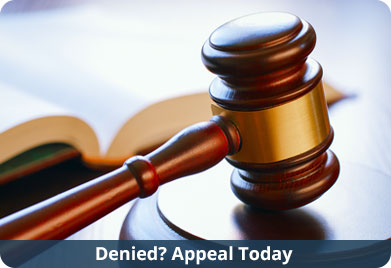 Denied? Appeal Today